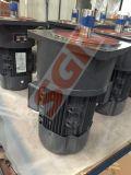 4kw 전동기로 결합되는 중단된 기중기 응용 무쇠 인라인 나선형 변속기