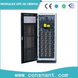 UPS em linha modular flexível 30kVA da redundância paralela