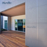 Panneau en aluminium de façade de mur de revêtement de résistance de la corrosion