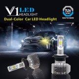 Faro impermeabile di vendita caldo del ventilatore LED H7, 24volt lampadine del faro dell'automobile H4 LED