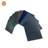 주문을 받아서 만들어진 크기와 색깔 탄소 섬유 장 또는 격판덮개 또는 널 합판 제품