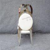 Yc-Ss39食事する熱い販売の工場直接卸し売り結婚式の宴会ステンレス鋼の椅子をスタックする