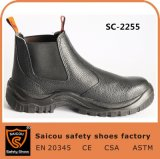 Chaud et le design de mode de vente avec des bottes de sécurité en cuir de buffle
