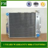 Radiateur en aluminium 1987-2004 de 3 rangées pour le Wrangler Yj Chevy V8 de jeep