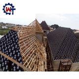 嵐の抵抗の石の上塗を施してある金属のローマの屋根瓦