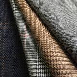 Ткань Lycra шерстей, ткань простирания шерстей смешанная полиэфиром