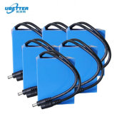 Haute puissance rechargeable au lithium 26650 Pack de Batterie LiFePO4 12V 50Ah pour vélo électrique.