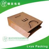 Saco de compra de papel personalizado profissional para empacotar