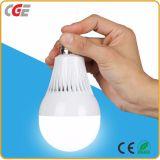 Banheira de venda de bateria de lítio inteligentes portáteis exigível 12W levou as lâmpadas LED da lâmpada da luz de emergência