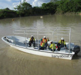 Liya 7,6 м пассажира на лодке из стекловолокна рыболовного судна строителей