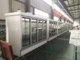 110V/60Hz Multi vertical Refrigerador de la pantalla de la puerta de vidrio