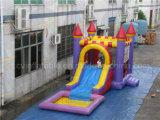 결합 싼 팽창식 성곽 및 활주, 아이를 위한 물 미끄럼