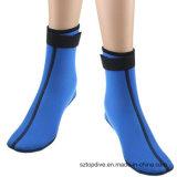 chaussettes de pêche surfante de plongée de natation de sable de chaussettes de sports du néoprène de 4mm pour les vêtements isothermiques de plage