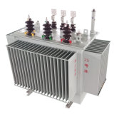 Tipo de pequenas perdas transformador elétrico montado Pólo do petróleo de 6.6kv 10kv