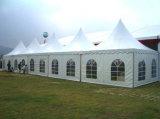 Tente extérieure d'usager de vente de tente chaude de pagoda pour l'exposition de véhicule