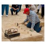 Séparateur de pierre à la main pour le fractionnement de pierre