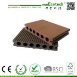 Anti-Placa exterior à prova de raios UV plank andar Barato preço um deck exterior Compoiste WPC Flooring