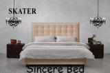 Sk11 미국식 침실 직물 침대