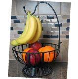 Cestino di frutta da tavolo decorativo domestico del metallo