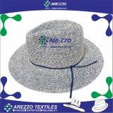 Sombrero de vaquero caliente de la paja del papel de la venta (AZ028C)