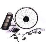 Livro Verde Pedel 26polegadas 36V 250 watt do Cubo Dianteiro Kit de bicicletas eléctricas do motor com bateria