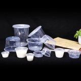 Wegwerf-pp.-PlastiknahrungsmittelFeinkostgeschäft-Behälter mit Kappen