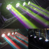 Colada principal móvil 7X15W del zoom de la luz de la viga del disco LED de la etapa