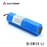 Pas Batterij 5.2ah van het Pak 25.9V van het Lithium de Ionen voor Electrics aan