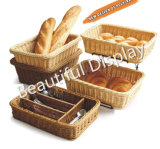 مستطيل تقليد [رتّن] خبز سلّة, طعام حصة سلّة, [ديبلي] سلّة لأنّ ثمرة طعام خضر