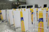 Crémaillère d'étalage debout personnalisée en métal d'étage de lait en poudre de supermarché