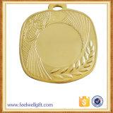 3D Runingの記念品によってカスタマイズされる金属のスポーツメダル
