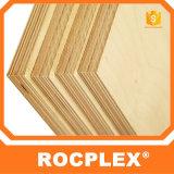 La madera contrachapada concreta de la forma de Rocplex, película barata hizo frente a la madera contrachapada