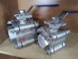 Actionneur pneumatique en acier inoxydable union de thread 3PC Clapet à bille