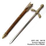 Le spade medioevali delle spade del cavaliere apri di lettera della spada del leone si dirigono la decorazione 26cm