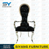 Silla de acero determinada del banquete de la silla del comedor rústico de los muebles