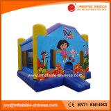 子供(T1251)のための膨脹可能な跳躍の弾力がある城の警備員