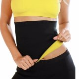 Los hombres señoras Deportes Protección Lumbar la quema de grasa en la cintura Trainer Fitness fortaleza de la correa de tipo ligero transpirable de la correa de apriete