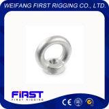 Écrou à oeil en acier inoxydable DIN580 galvanisation électrique AISI 304-316