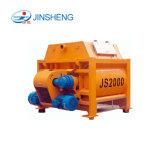 Jinsheng Js2000, das 2000 Liter-Betonmischer entlädt