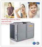 Высокая температура горячей воды 38KW воздух Souce тепловой насос с КС 4.5 R134A