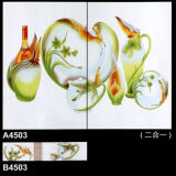 2017枚の新しいデザイン300X450によって艶をかけられる製陶術の台所タイル