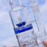 作られたガラス煙る配水管を照らす美しいデザイン