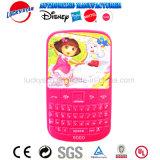 Nuevo diseño del teléfono móvil para niños de la luz de juguete con forma