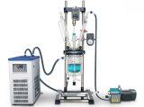 ガラス反作用のやかんまたは器械装置か実験装置