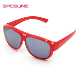 백색 빨간 프레임 다채로운 일요일 Glassesunbreakable에 의하여 극화되는 Eyewear
