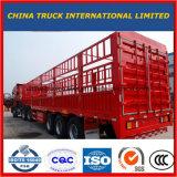 Tri-Axle 60 тонн загородки груза трейлер Semi