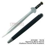 Spada del gladiatore della spada di film di Spartacus con la guaina 76cm Jot100c