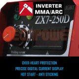 L'IGBT7-160 Zx DC INVERTER soudeur à arc MMA de la soudure de la machine à souder