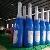 Prodotto di pubblicità gonfiabile della bottiglia durevole dell'acqua personalizzato stile popolare
