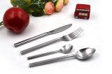 Нержавеющая сталь Tableware Dinnerware Cutlery 4 частей установленная